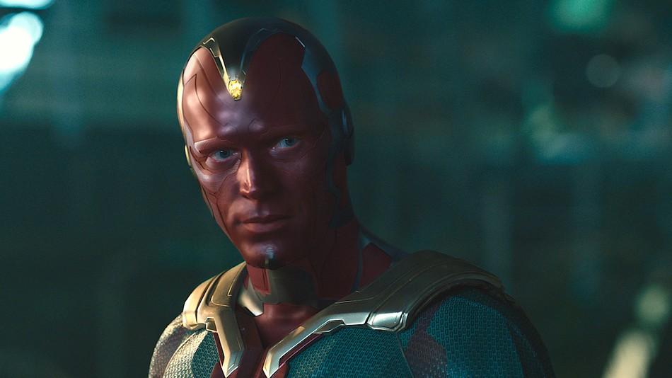 From Vision to Dryden Vos   The Contrasting Roles of Paul Bettany