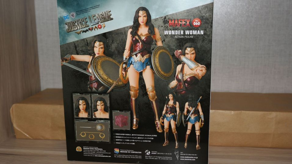 FOTF Mafex Medicom Wonder Woman Review 21