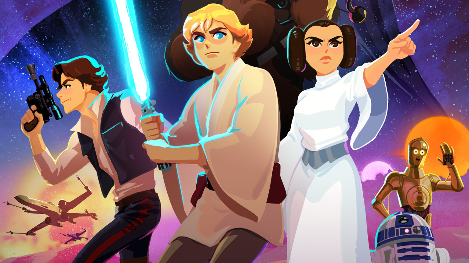 Trailer   Star Wars: Galaxy of Adventures