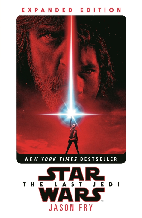 Star Wars The Last Jedi Paperback Cover Art
