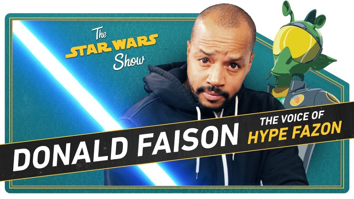 The Star Wars Show | You Can't Handle the Hype of Resistance's Donald Faison