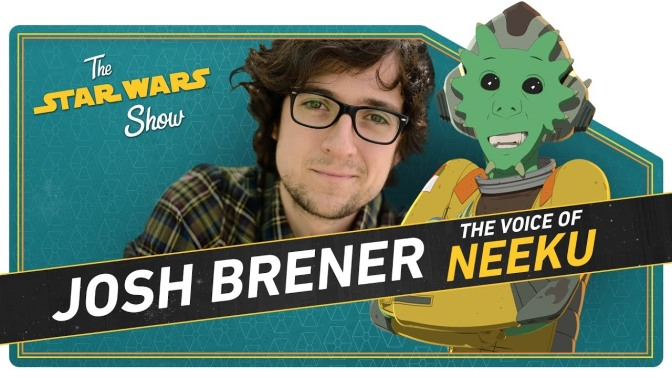 The Star Wars Show | Meet Resistance's Neeku and Get Out the Star Wars Vote