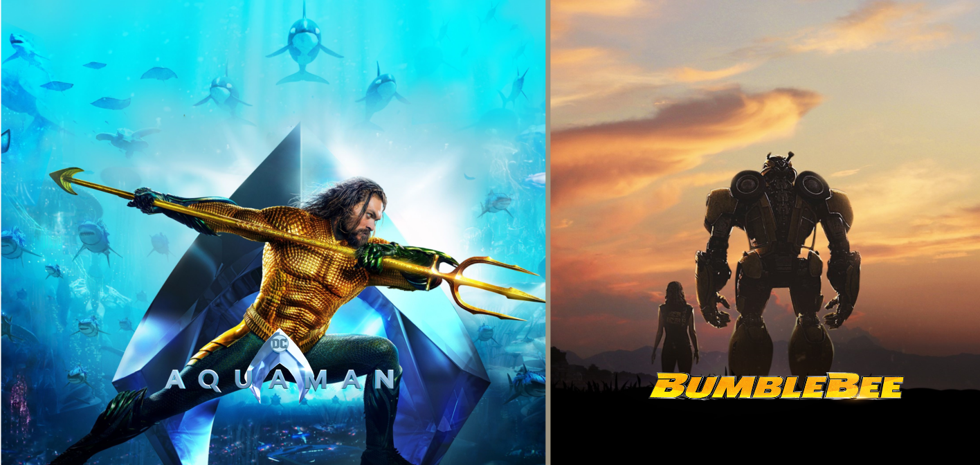 Can Aquaman and Bumblebee Save the Christmas Box Office?