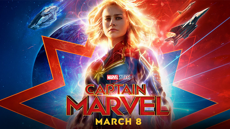 Captain Marvel | New Trailer Puts the Marvel Back Into Marvellous