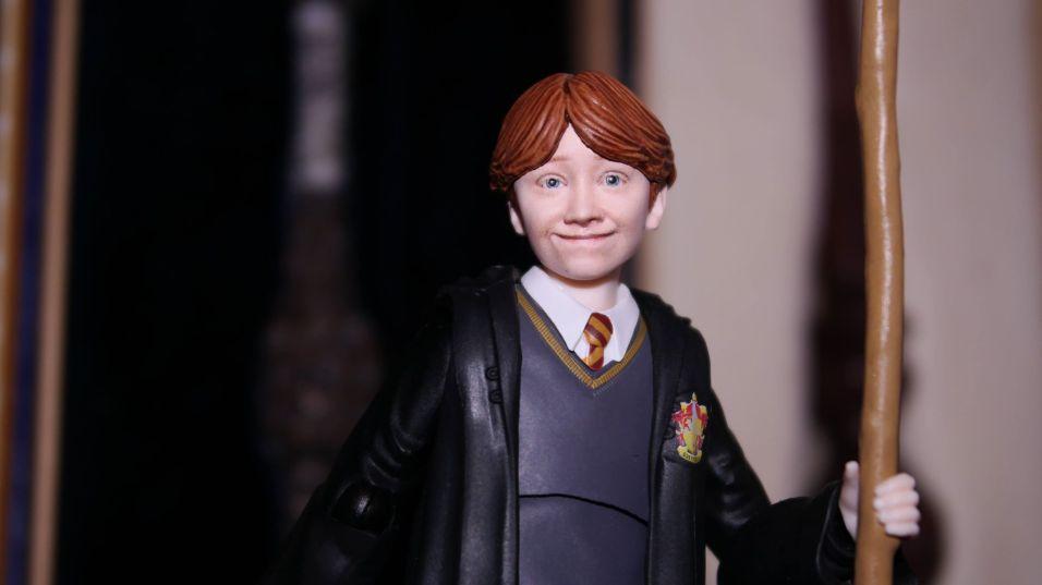 FOTF S.H Figuarts Harry Potter Ron Weasley Review 11