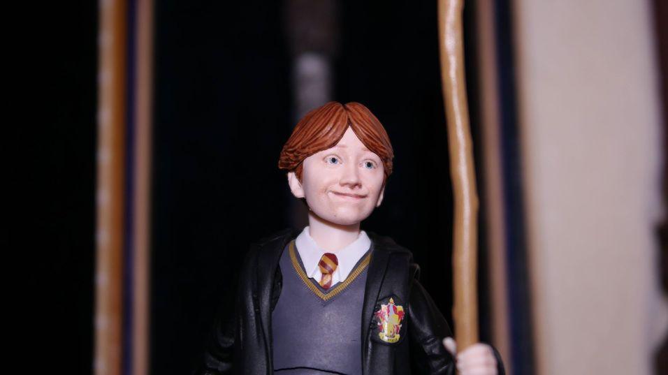 FOTF S.H Figuarts Harry Potter Ron Weasley Review 12