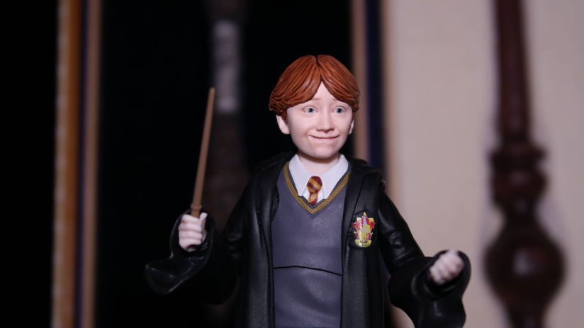 FOTF S.H Figuarts Harry Potter Ron Weasley Review 19