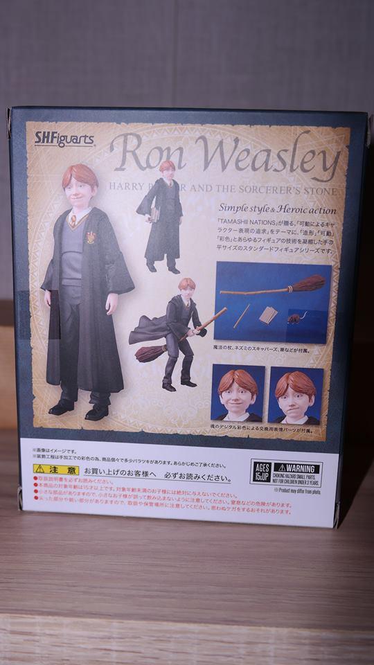 FOTF S.H Figuarts Harry Potter Ron Weasley Review 3