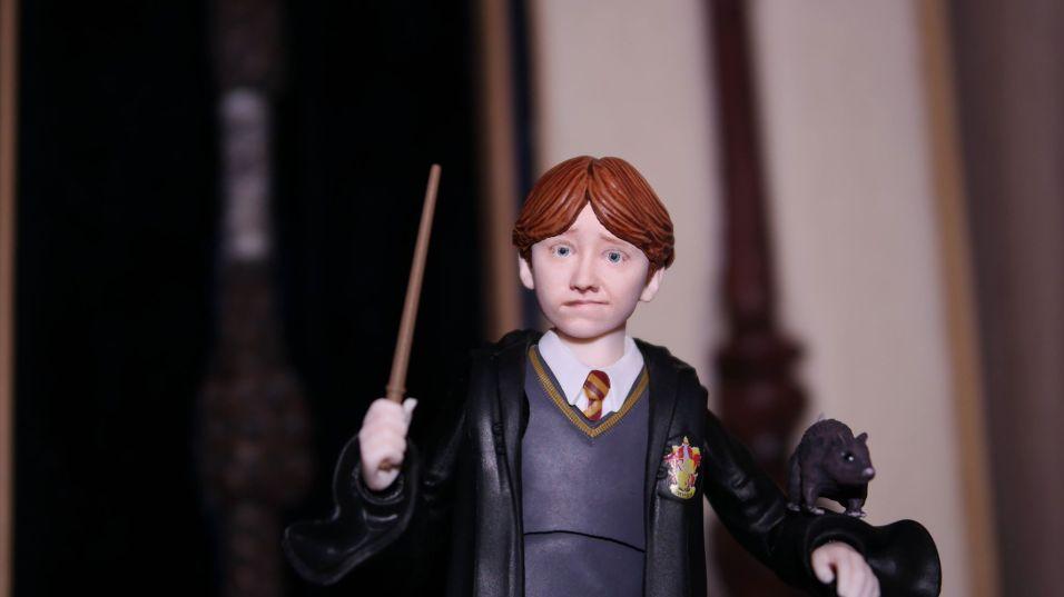 FOTF S.H Figuarts Harry Potter Ron Weasley Review 9
