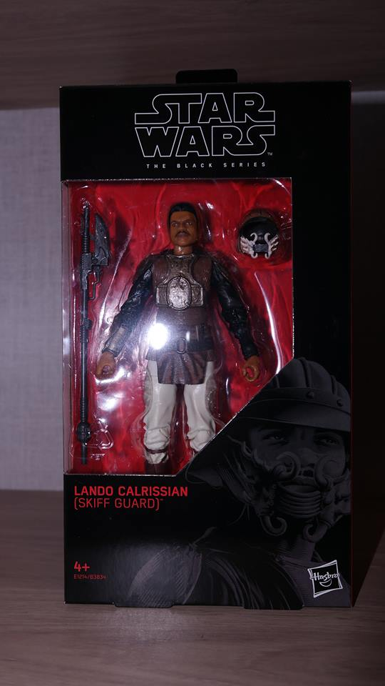 FOTF Star Wars Black Series Lando Calrissian (Skiff Guard) Review 1