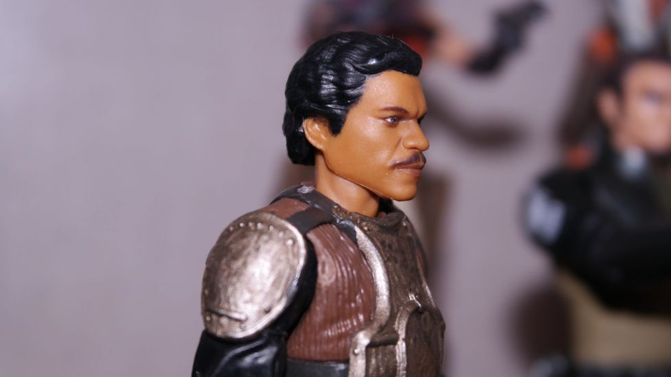 FOTF Star Wars Black Series Lando Calrissian (Skiff Guard) Review 13