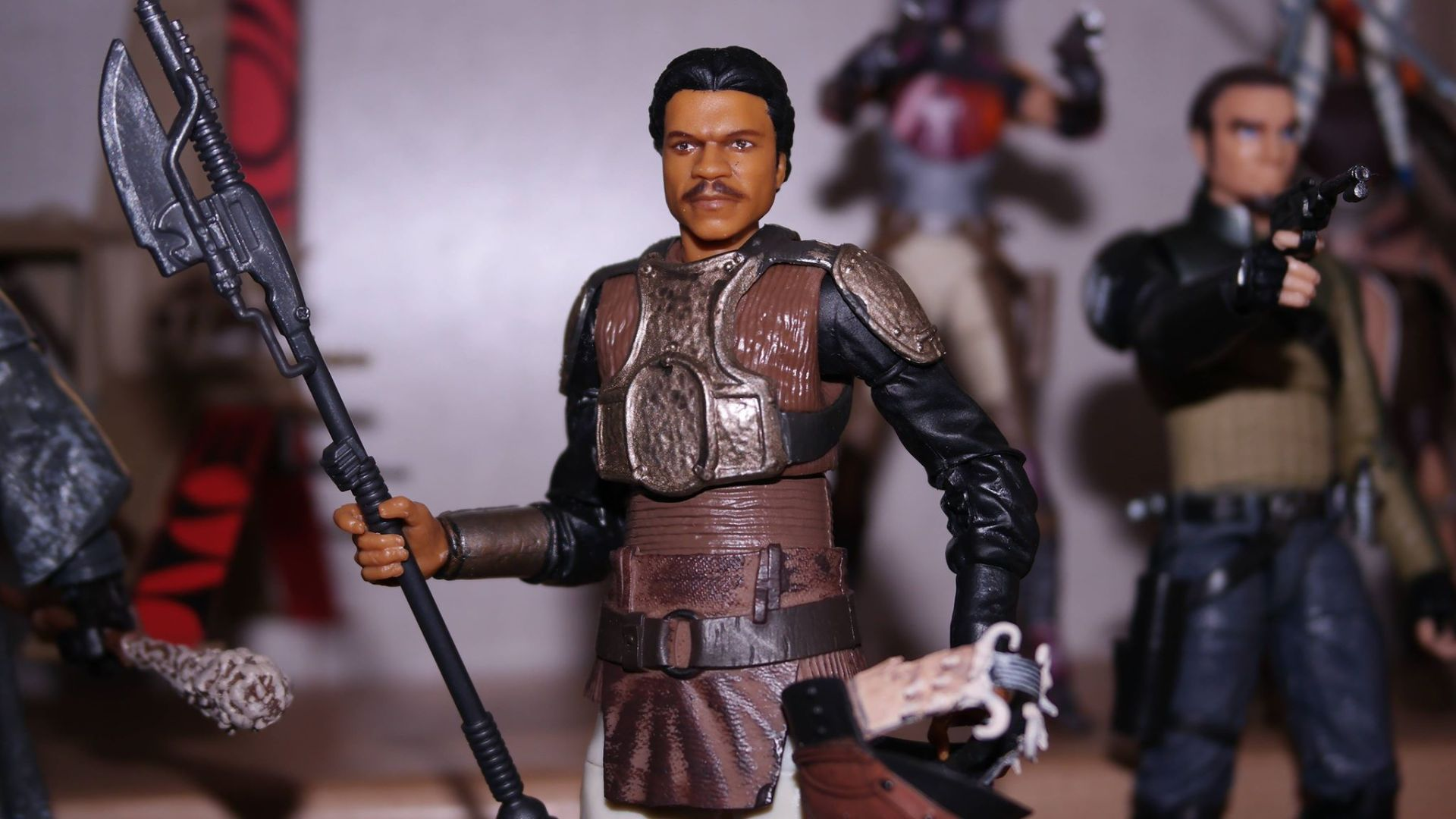 FOTF Star Wars Black Series Lando Calrissian (Skiff Guard) Review 3