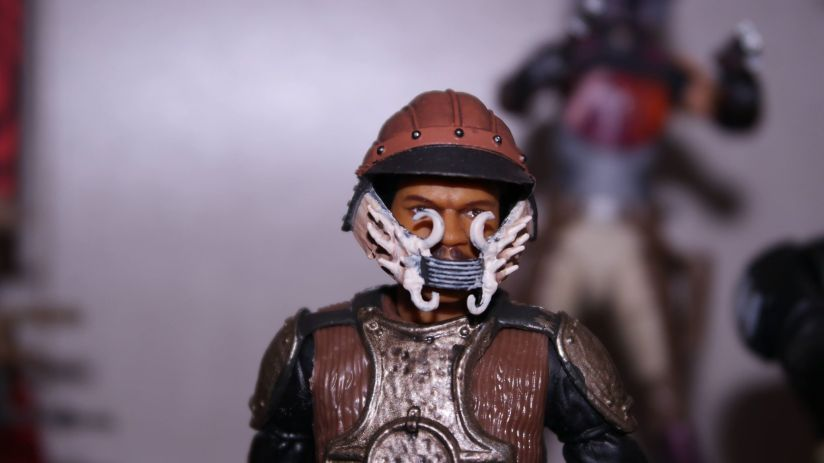 FOTF Star Wars Black Series Lando Calrissian (Skiff Guard) Review 4