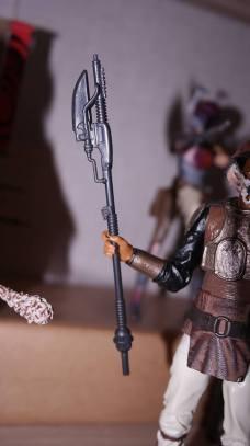 FOTF Star Wars Black Series Lando Calrissian (Skiff Guard) Review 6