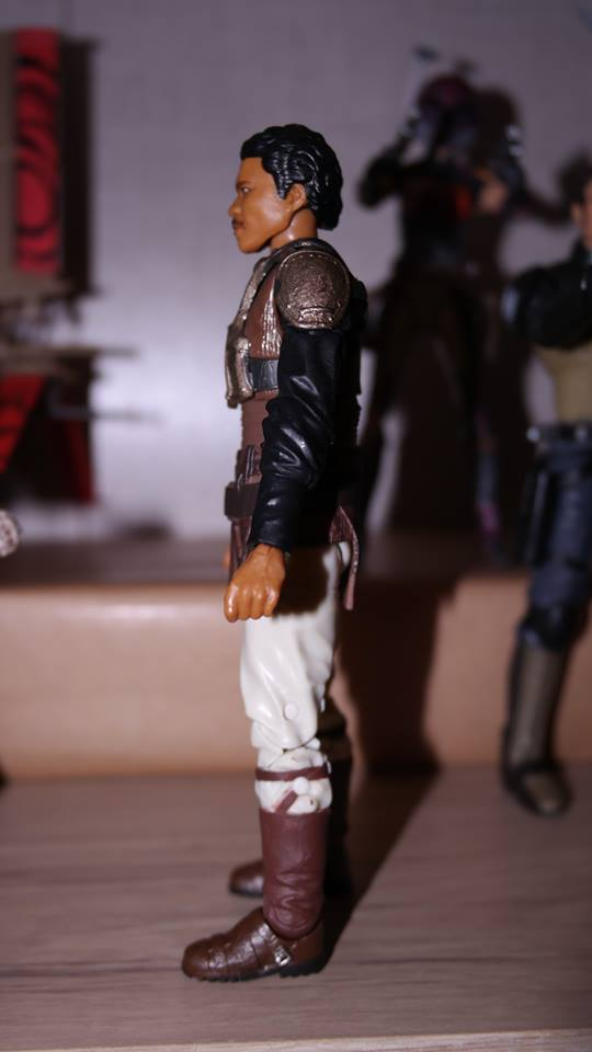 FOTF Star Wars Black Series Lando Calrissian (Skiff Guard) Review 7