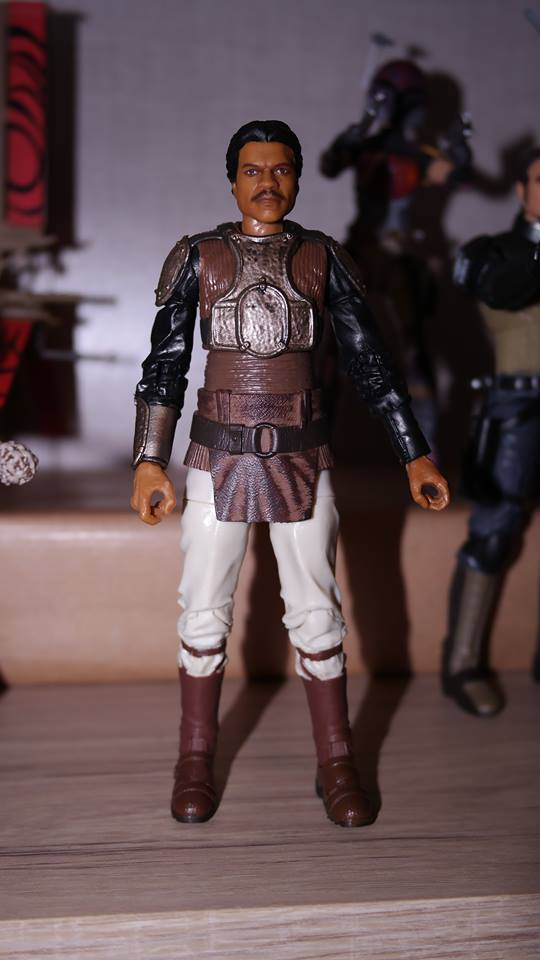 FOTF Star Wars Black Series Lando Calrissian (Skiff Guard) Review 8