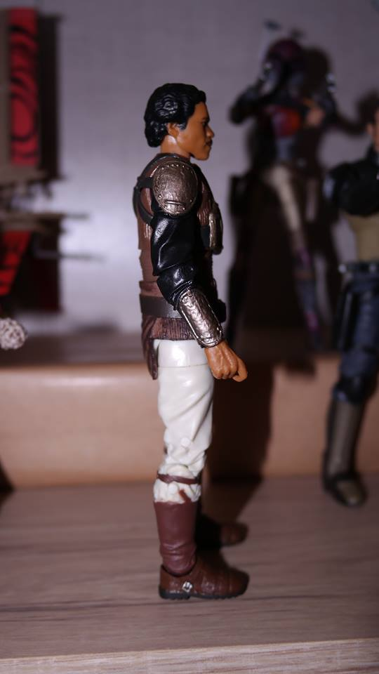FOTF Star Wars Black Series Lando Calrissian (Skiff Guard) Review 9