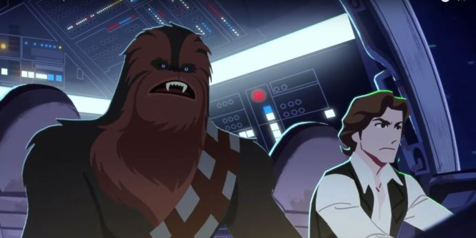 "Star Wars: Galaxy of Adventures | Chewbacca ""The Trusty Co-Pilot"""