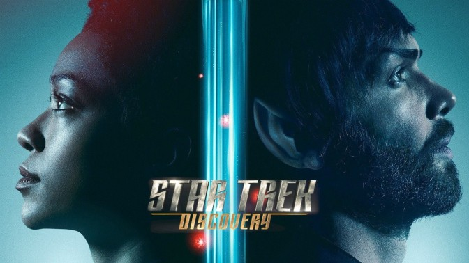Star Trek: Discovery | Season 2 Posters Showcase Spock and Captain Pike