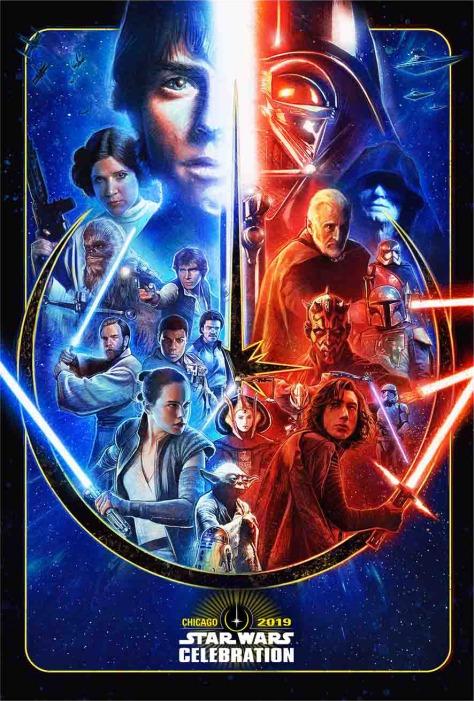 Star Wars Celebration 2019 | Official Poster Art Revealed