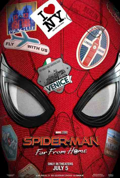Spider-Man: Far From Home   New Trailer & Posters Swing In