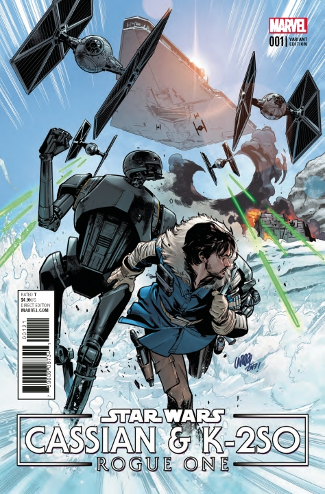 Comic Review | Star Wars: Cassian & K-2SO