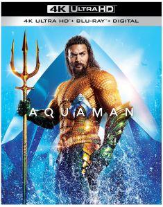 Aquaman Surfaces On Blu-Ray