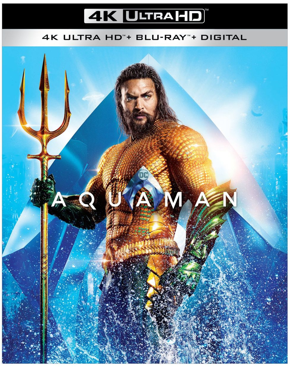Aquaman Surfaces On Blu-Ray