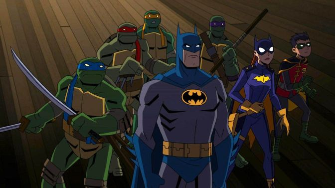 Batman Vs. The Teenage Mutant Ninja Turtles Animated Movie Announced