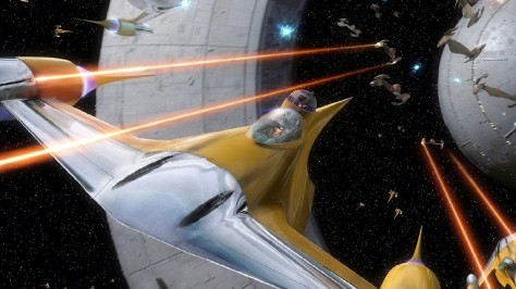 Battle of Naboo - Star Wars The Phantom menace