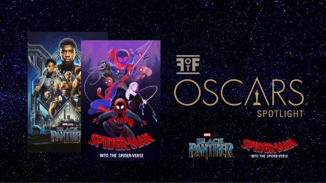 The Oscars   Black Panther Makes History