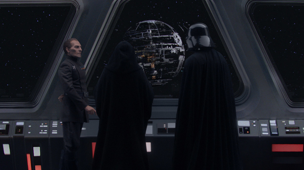 Revenge of the Sith Death Star