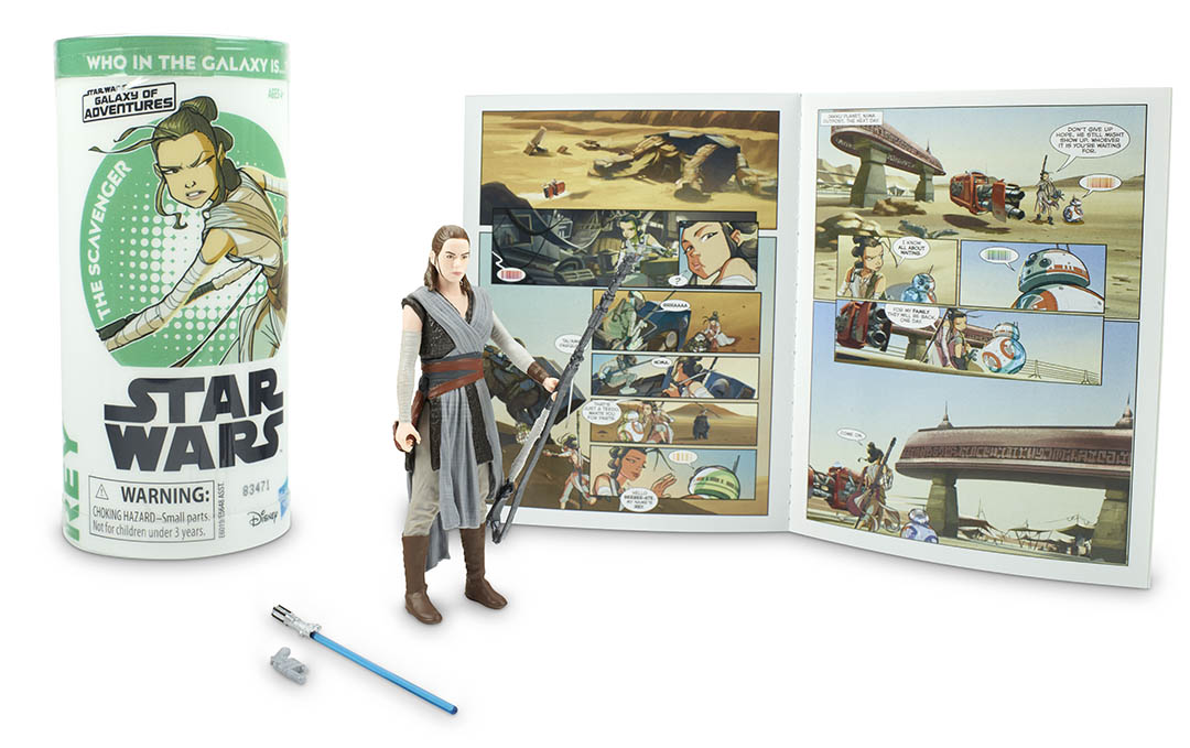Star Wars   Rey, Obi-Wan Kenobi, and More Join Hasbro's Galaxy of Adventures Action Figures Collection