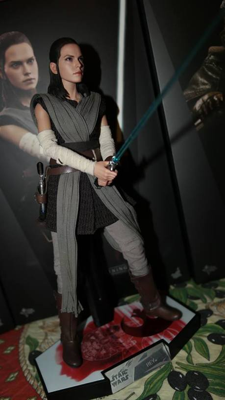 Star Wars Hot Toys Rey (Jedi Training) Review 2