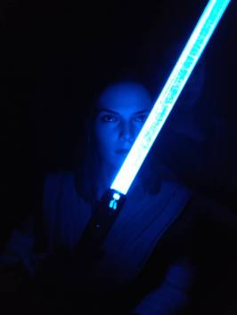 Star Wars Hot Toys Rey (Jedi Training) Review 27