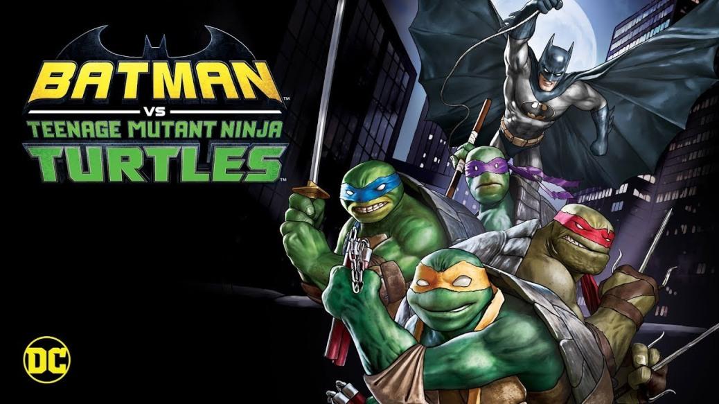 Batman vs TMNT Digital and Blu-Ray Release Dates Announced
