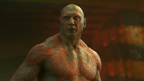 Dave Bautista in Guardians
