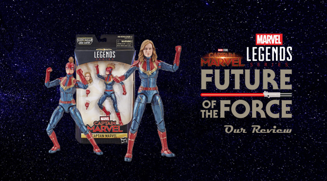 Marvel Legends Review | Captain Marvel