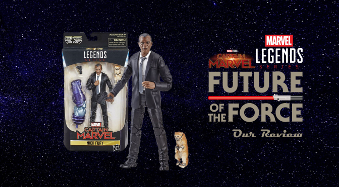 Marvel Legends Review | Nick Fury (Captain Marvel)