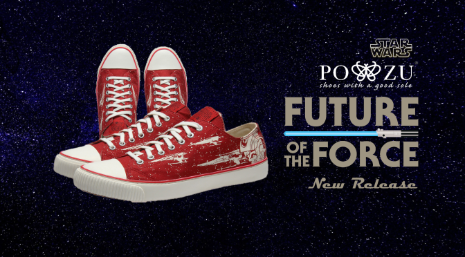 Po-Zu | Star Wars Stays on Target with the New X-Wing Sneakers