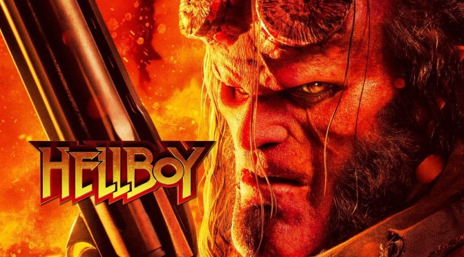 Hellboy Battles Through Hellfire and Brimstone in the New Red Band Trailer
