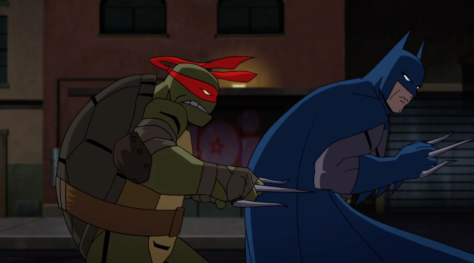 World's Collide in the Trailer for Batman vs. Teenage Mutant Ninja Turtles