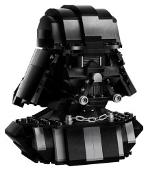 LEGO has crafted a special brick bust in the visage of the mask of Darth Vader, with limited availability at Target.