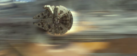 The Force Awakens - Millennium Falcon