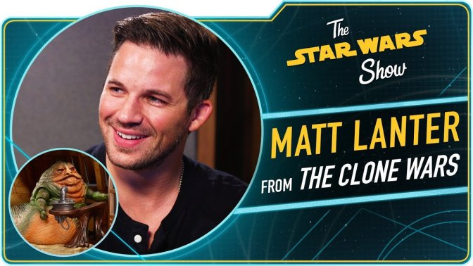 The Star Wars Show | The Mandalorian Wraps and Matt Lanter Talks The Clone Wars