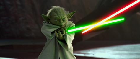 yoda vs dooku star wars attack of the clones