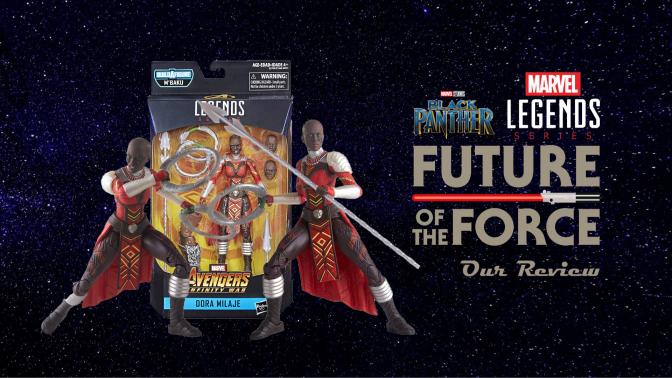 Marvel Legends Review | Dora Milaje (Avengers: Infinity War)