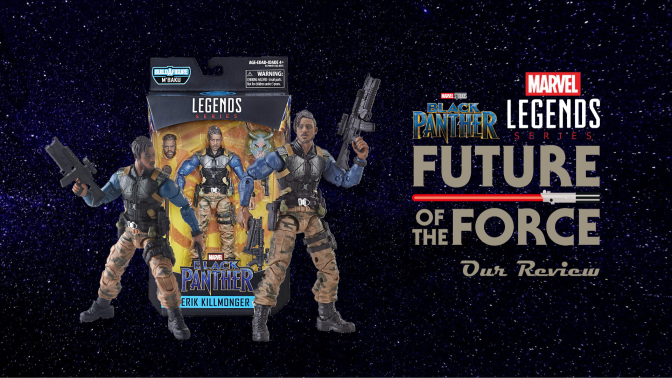 Marvel Legends Review   Erik Killmonger (Black Panther)