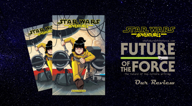 Comic Review | Star Wars Adventures Vol. 3: Endangered