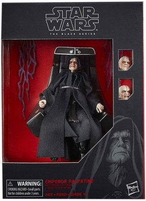 First Look | Star Wars The Black Series Deluxe Emperor Palpatine Revealed